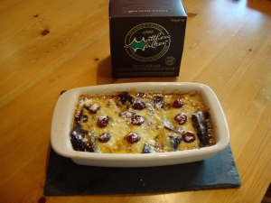 'bread and butter' pudding