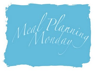 Meal Planning Monday - 26th November 2012