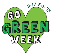 Go Green Week Logo 2013 transparent